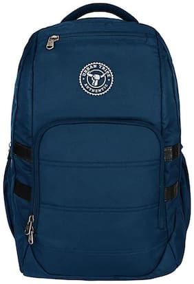 Urban Tribe Blue Polyester Laptop backpack