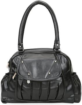 V2 VALUE & VARIETY Pu Women Shoulder bag - Black