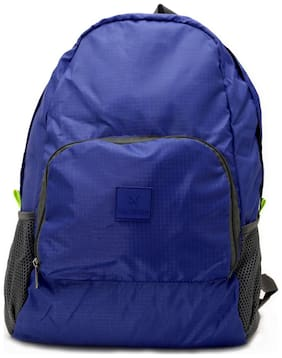 VAJERO Blue Pu Backpack