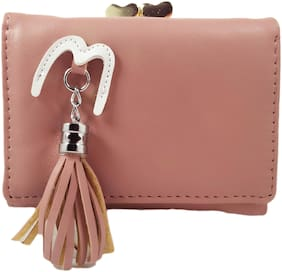 Valerie Women Pink Leather