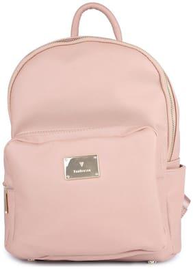 Van Heusen Pink PU Backpack
