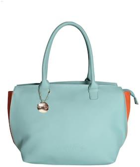 Venicce Faux Leather Women Handheld Bag - Green