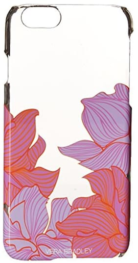 Vera Bradley Clear And Chic Case For Iphone 6 Paradise Floral Lilac