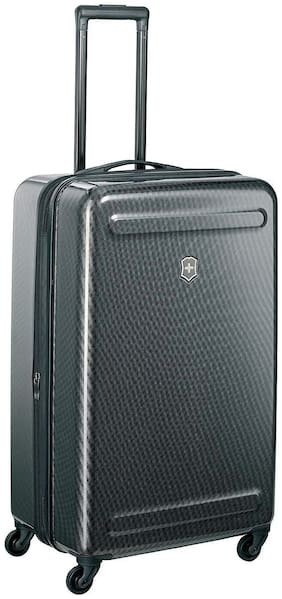 Victorinox Large Size Hard Luggage Bag ( Black , 4 Wheels )