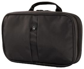 Victorinox Lifestyle Accessories 4.0 Zip-Around Travel Kit 3-Section Toiletry Case