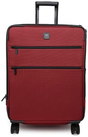 Victorinox Large Size Soft Luggage Bag - Red , 4 Wheels