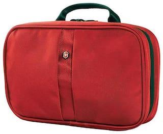 Victorinox Lifestyle Accessories 4.0 Zip-Around Travel Kit 3-Section Toiletry Case
