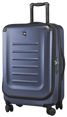 Victorinox Large Size Hard Luggage Bag - Blue , 4 Wheels