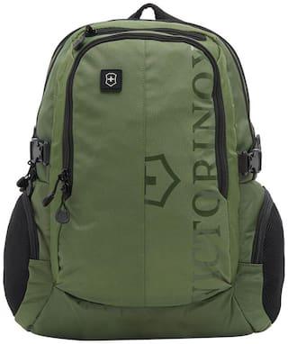 Victorinox Green Waterproof Nylon Backpack