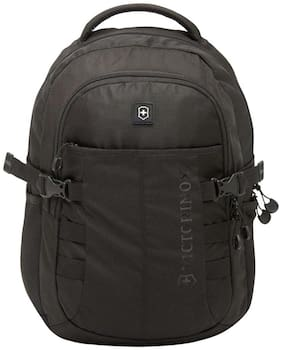 Victorinox Black Waterproof Nylon Backpack
