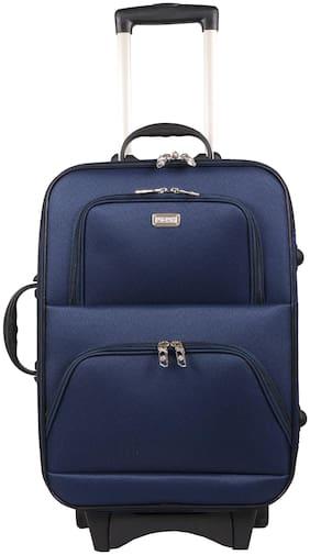 Vidhi Cabin Size Soft Luggage Bag ( Blue , 2 Wheels )