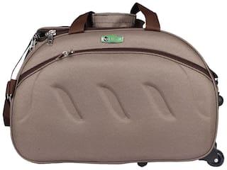 01bc490906 Buy Vidhi Satin Men Duffle Bag - Brown Online at Low Prices in India ...