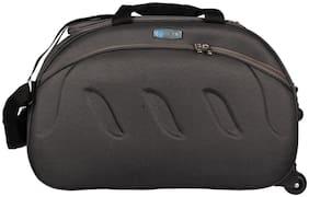VIDHI Grey Travel Duffel Bag with Wheels (Grey)