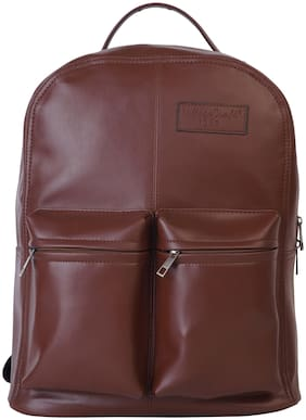 Village Craft VLC21_BROWN Laptop Backpack