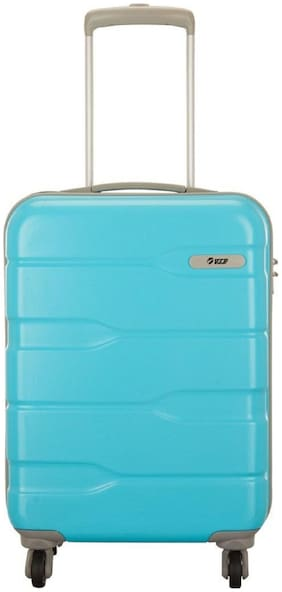 VIP Cabin Size Hard Luggage Bag - Blue , 4 Wheels