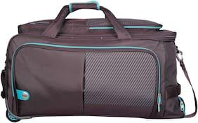 VIP Polyester Men Duffle Bag - Brown
