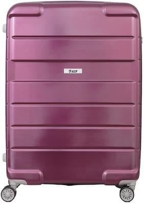 VIP Hummer Large Size Hard Luggage Bag ( Purple , 4 Wheels )