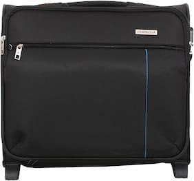 VIP Lincon Cabin Size Overnighters Bag ( Black , 2 Wheels )