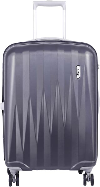 VIP Cabin Size Overnighters Bag ( Grey , 4 Wheels )