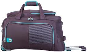 VIP Cabin Size Duffle Strolly Bag ( Purple , 2 Wheels )