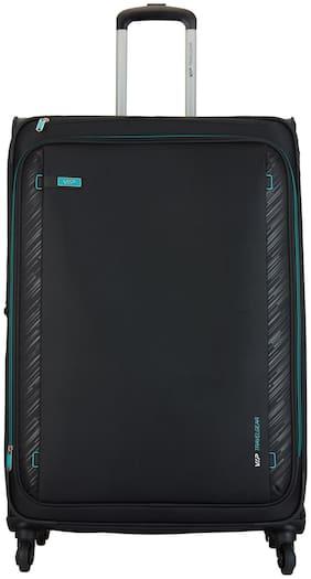 VIP Large Size Soft Luggage Bag ( Black , 4 Wheels )