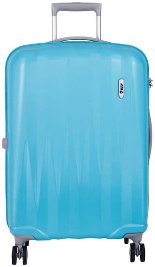 VIP Cabin Size Hard Luggage Bag ( Blue , 4 Wheels )