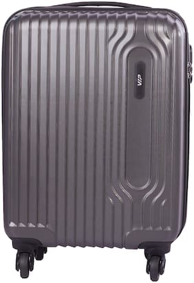 VIP Trace Cabin Size Hard Luggage Bag ( Grey , 4 Wheels )