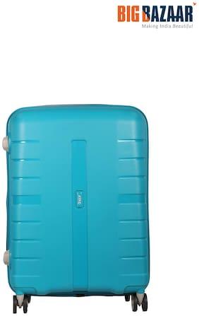 VIP Medium Size Hard Luggage Bag - Blue , 4 Wheels