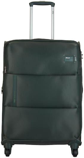 VIP Medium Size Soft Luggage Bag ( Green , 4 Wheels )