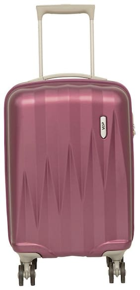 VIP Zapper Cabin Size Hard Luggage Bag ( Maroon , 8 Wheels )