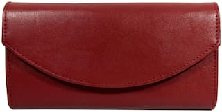 Vital King Women Red Clutch