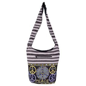 Vivid Rajasthan Women Canvas Tote Bag - Black