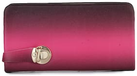 Vogue Street Women Solid Fabric - Clutch Multi