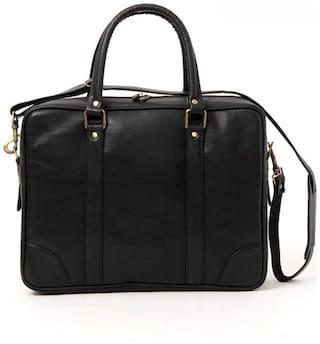 Walletsnbag Black Laptop Bag