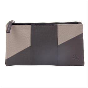Walletsnbags Women Beige Leather Wallet