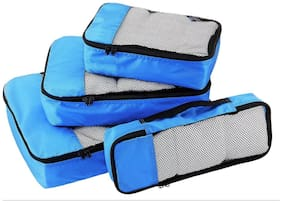 Walletsnbags Packing Cubes Set Of 4 (Small,medium,Large,Slim)