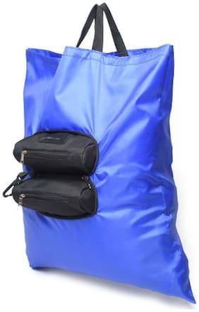 Walletsnbags Women Blue PU Wallet