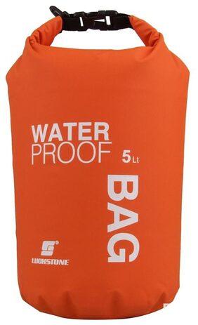 Waterproof Dry Bag Sack TRAVEL Camping Canoe Kayak Swim Outdoor Sports 5L Orange # International Bazaar