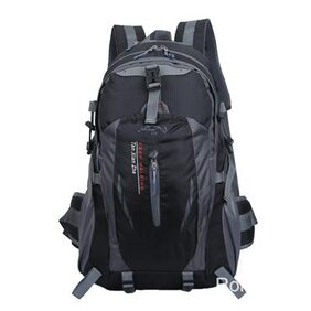 Unisex Waterproof Durable Outdoor Climbing Backpack for Hiking Athletic Sport Travel Climbing- Black