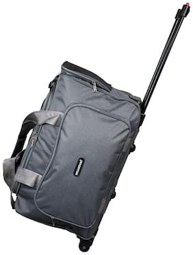 WELLMOUNT Large Size Duffle Strolly - Grey , 2 Wheels