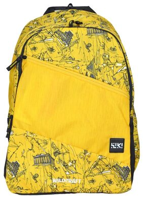 Wildcraft Backpack Wiki 2 Doodle 1 Yellow - 8903338114772