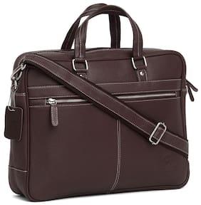 WildHorn 100 % Genuine Leather (40.64 cm (16 inch))  Laptop Messenger Bag