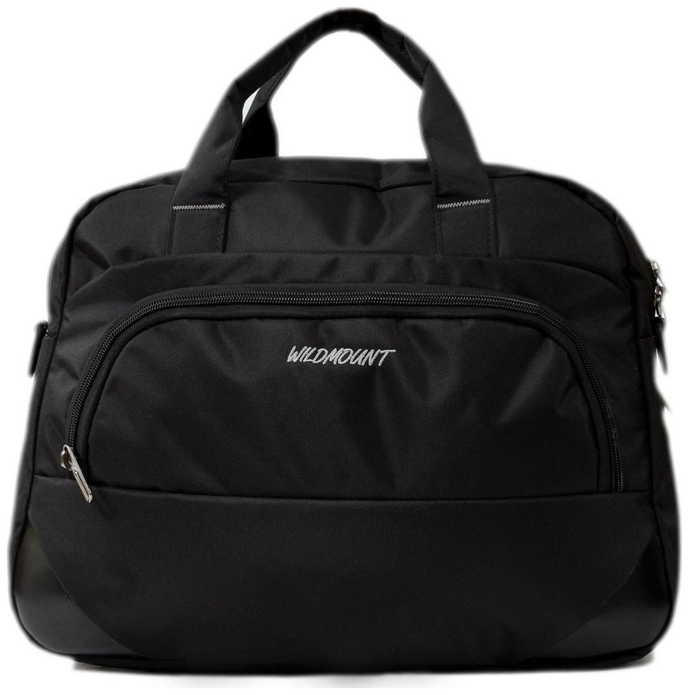 Wildmount 16 inch Laptop Messenger Bag   Black