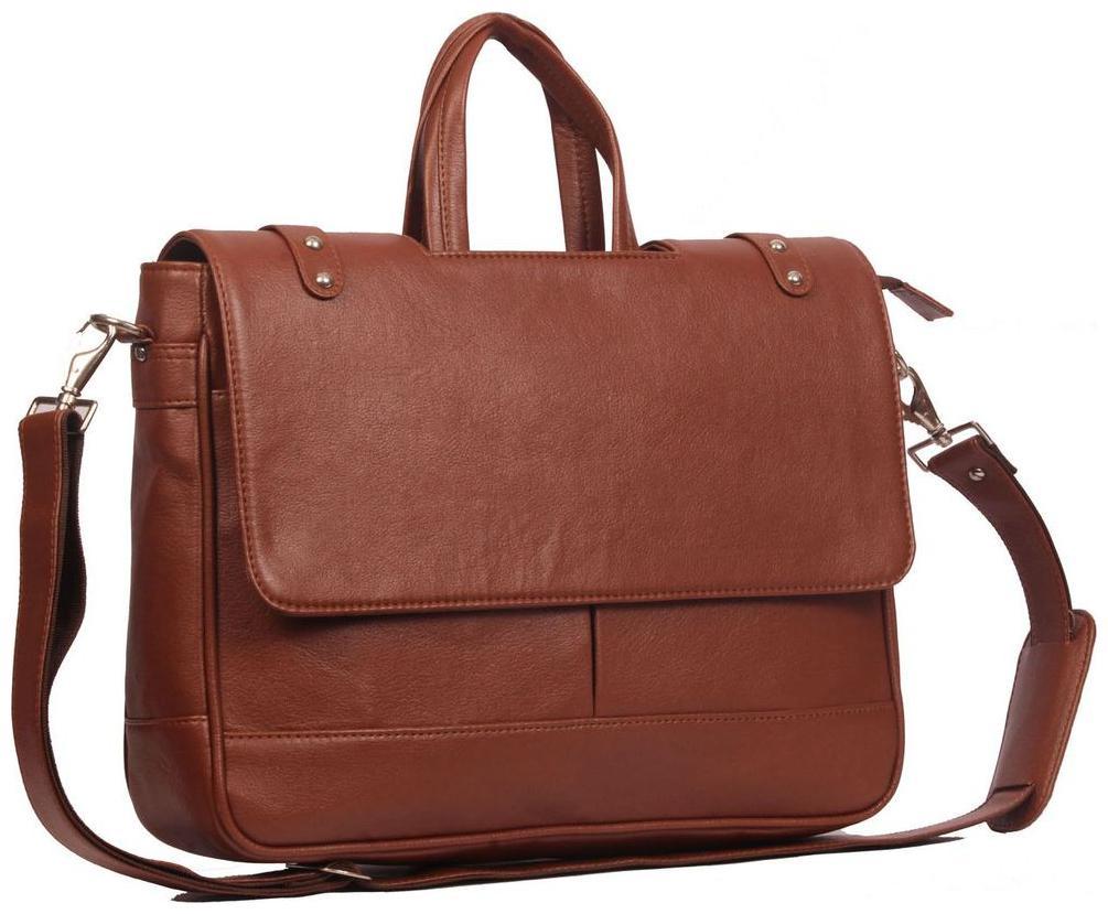 Wildmount 40.64 cm  16 inch  Leather  Laptop Messenger Bag