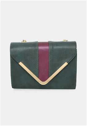 Regular Sling Bag ( Green )