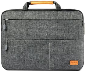 WIWU 2.257481937 Grey Canvas Laptop sleeve