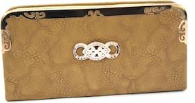 Women & Girl's Wallet clutch Vegan Leather
