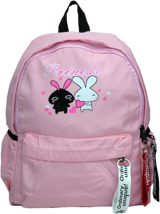 Gofika Pink Nylon Backpack