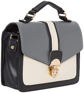 Medium Sling Bag ( Grey Melange )