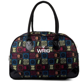WRIG Small Canvas Travel Bag With Double Handle